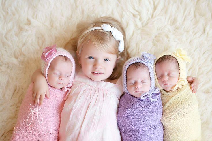 Triplet Newborn Session || Jaci Forshtay Photography, Northern Indiana Photographer