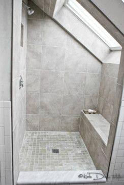 die besten 25 bad mit dachschr ge ideen auf pinterest. Black Bedroom Furniture Sets. Home Design Ideas