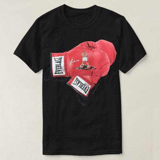 Ali The Greatest Boxing Gloves Custom Shirts
