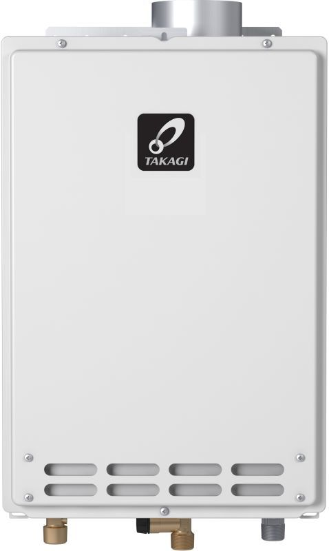Takagi T-KJR2U-IN 140000 BTU Direct Vent Whole House Tankless Water Heater Natural Gas Tankless Water Heaters Whole House Gas/Propane