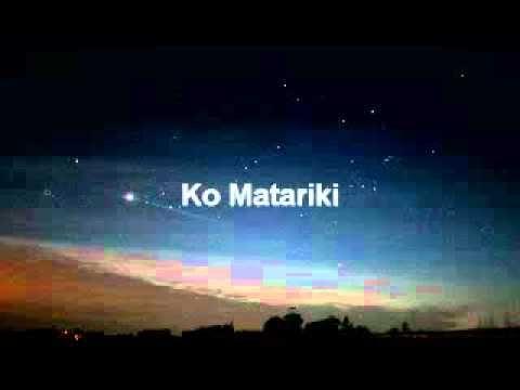 Matariki - © waiata with lyrics by Te Whiuwhiu o te hau 2011™