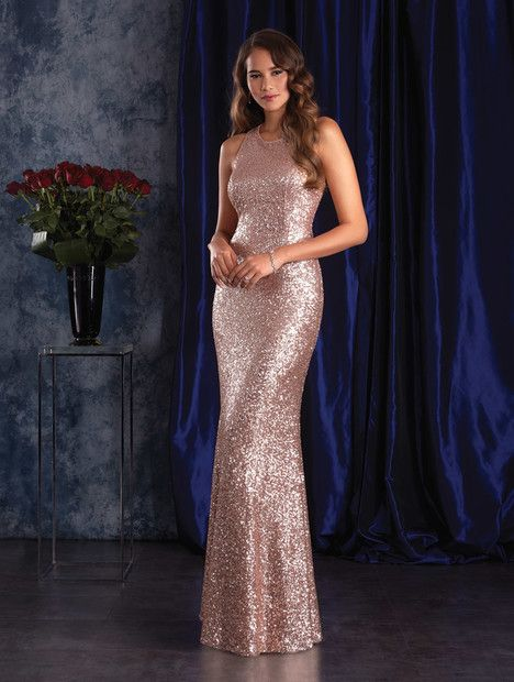 8129 gown from the 2017 Alfred Angelo : Sapphire Bridesmaids collection, as seen on dressfinder.ca