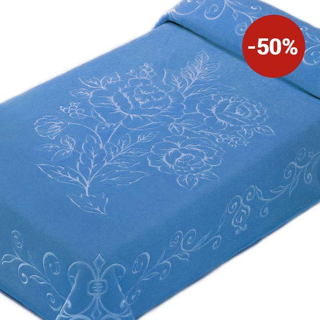 Pătură de pat single Belpla Ster 501 Blue