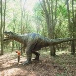 The Dinosaur Place - dinosaurs, awesome splash pad, and kid's maze.