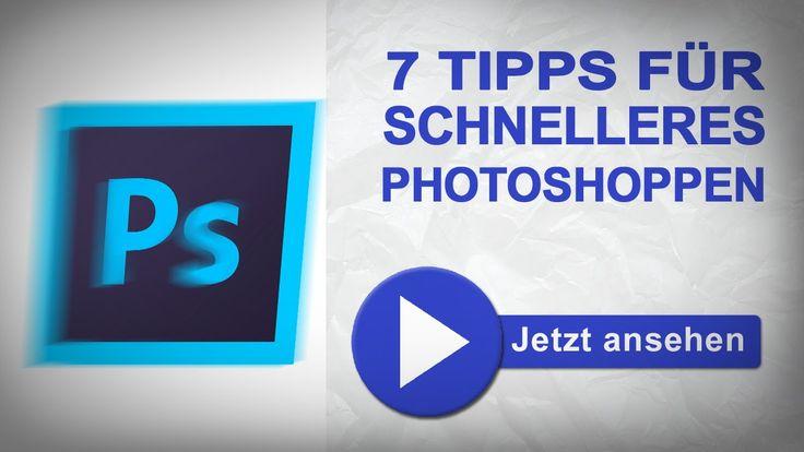 Du möchtest schneller und effektiver in #Photoshop arbeiten? In diesem Video gebe ich Dir 7 Tipps und Tricks mit auf den Weg die das Bearbeiten von Fotos und...