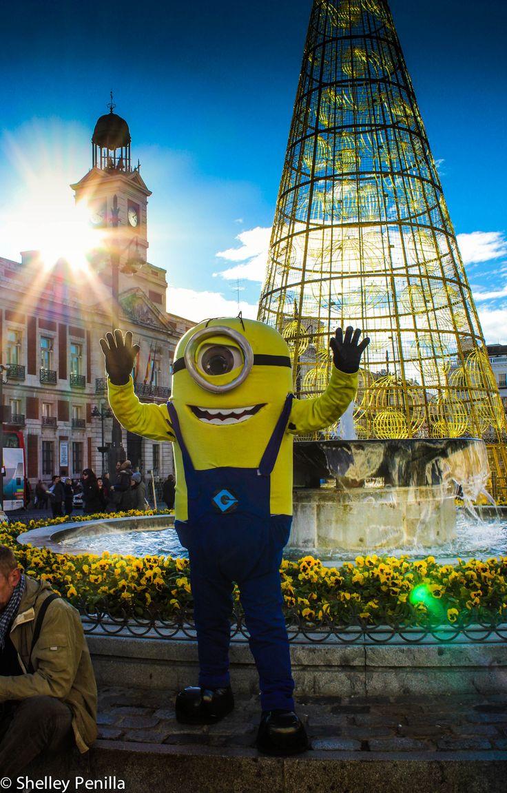 Mi Minion in Puerta del Sol