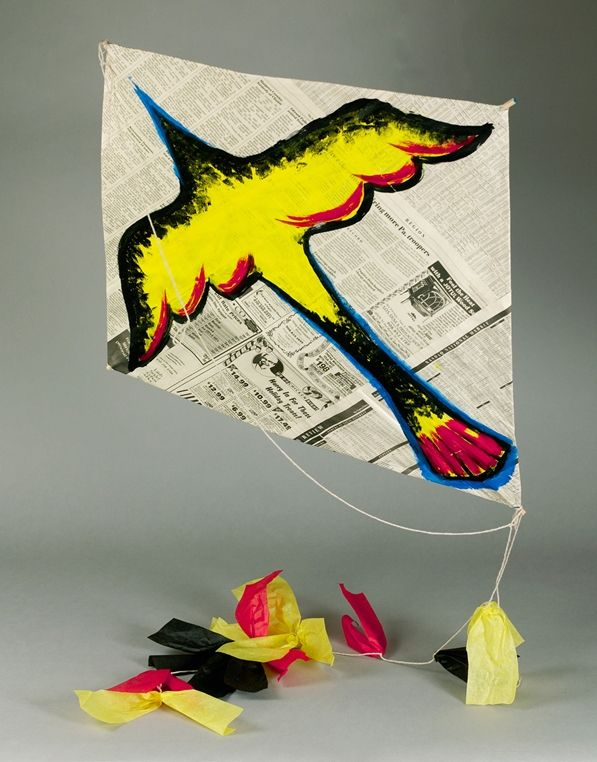 Explore the traditional Maori culture of New Zealand. Then create a bird kite that really flies.
