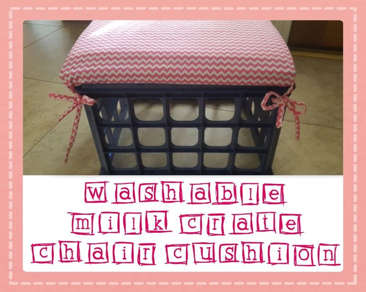 17 Best Ideas About Milk Crate Chairs On Pinterest Tire