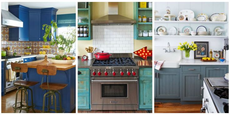 10 great paint colors to use in your kitchen!