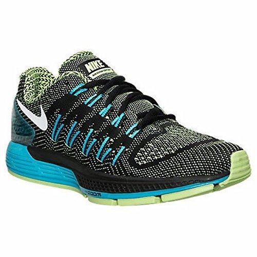 Nike Womens WMNS Air Zoom Odyssey BLACK WHITEGHOST GREENBLUE LEGION Size 7  *** Details. Black Flats ShoesGreen ...