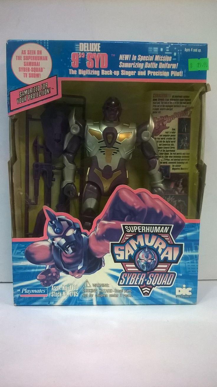 Superhuman Samurai Syber-Squad Syd