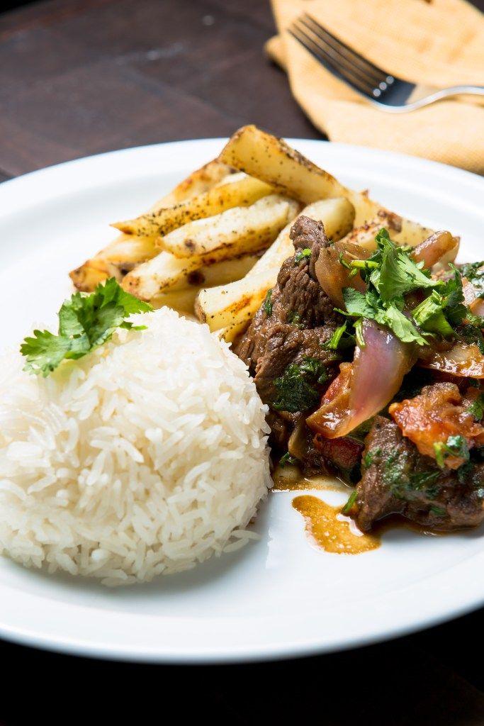 Lomo Saltado - peruvian beef stir fry