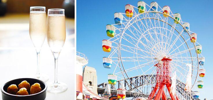 Ferris Wheel Dining Experience at Luna Park Sydney  #dining #sydney #limeandtonic