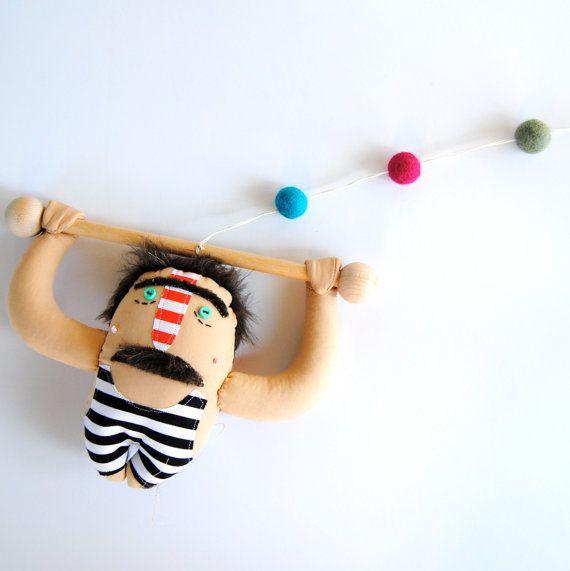 Franz A Strong Man: Strong Man, Etsy, Nursery Decor, Modern Nursery, Modern Nurseries, 40 00, Kids