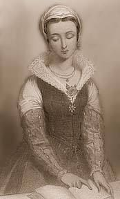 """Before she was the famous """"Nine Day's Queen"""", Lady Jane Grey was a Maid-of-Honor to Queen Catherine Parr"""