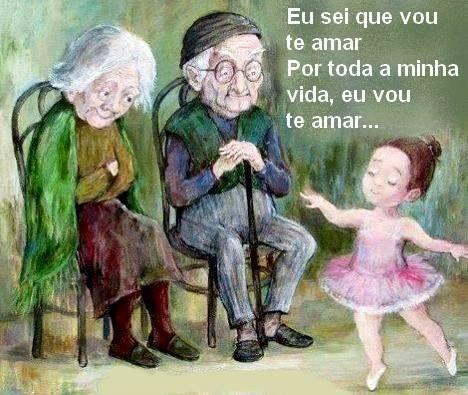 Uma declaração de amor aos avós!
