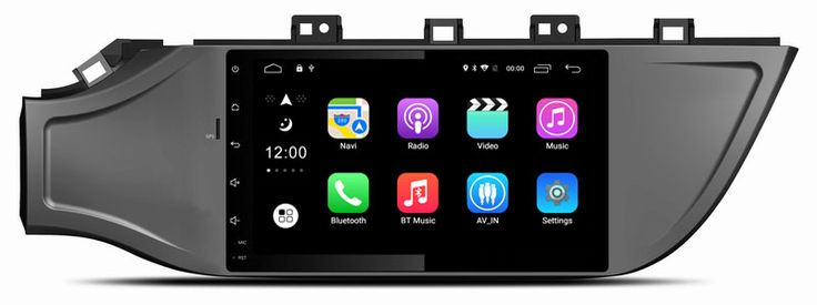 Ouchuangbo 9 inch autoradio for Kia K2 2017 with android 6.0 system gps navigation wifi bluetooth 1080P video