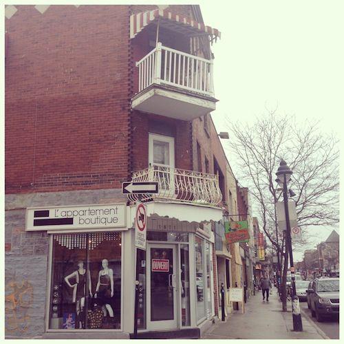 Boutique L'Appartement  1871 Av, Mont-Royal E, Mtl, QC Photo by A La Mode Montréal