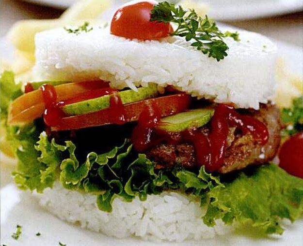resep nasi burger