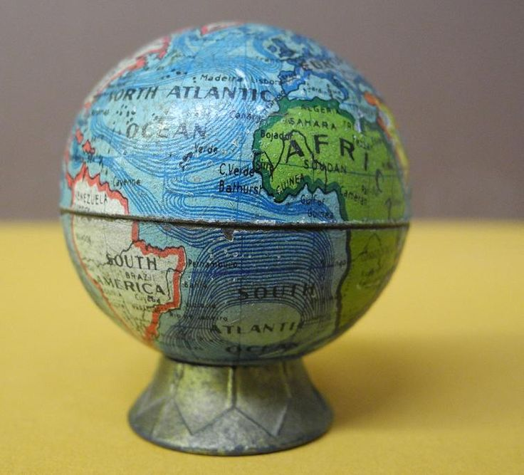 untitled Cartographer German Anonymous Kitsch Globe Published