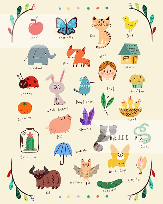 Everything A to Z  by PaperPlants