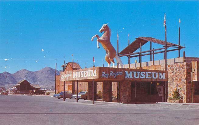 Roy Rogers Museum when it was in Apple Valley California