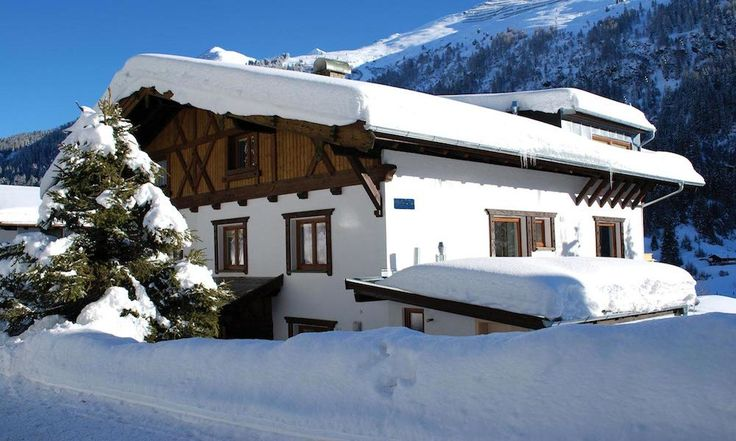 Snow covered Chalet Narnia - idyllic setting for a family ski holiday or romantic short break #familyskiing #stanton #luxurychalet