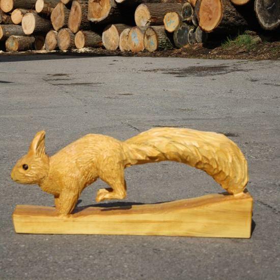 Holzskulpturen & Motorsägenkunst - Made by Toni Flückiger www.flugo.ch - 1. Schweizer Meister im Kettensägenschnitzen