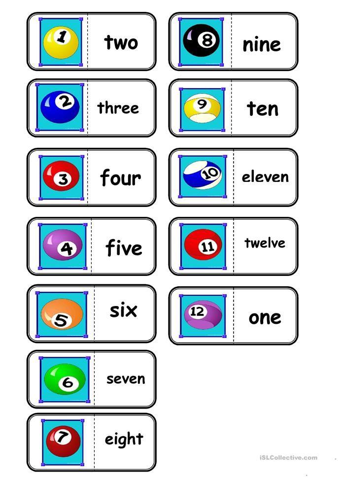 numbers, domino