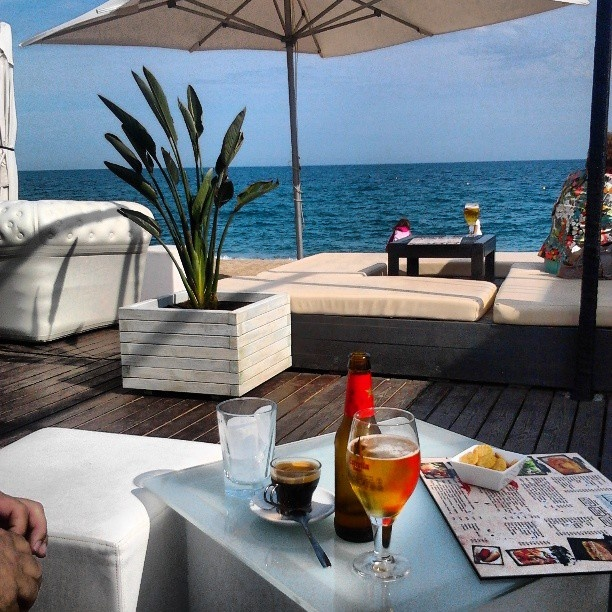 Moloko Beach Bar Pineda de Mar