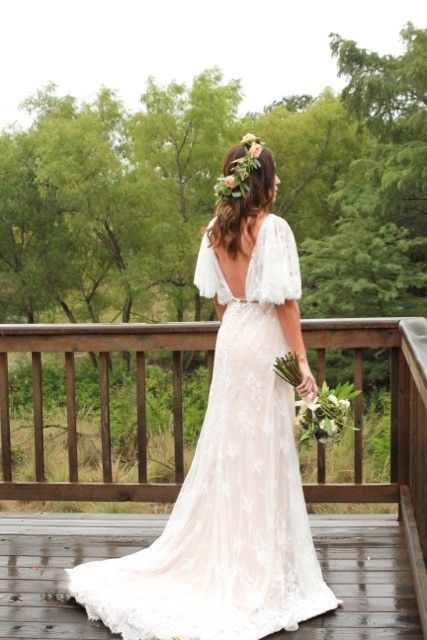 Ivy & Aster Then Came You Wedding Dress. Ivy & Aster Then Came You Wedding Dress on Tradesy Weddings (formerly Recycled Bride), the world's largest wedding marketplace. Price $1000.00...Could You Get it For Less? Click Now to Find Out! #bohobride #bohoweddingdress #bohemian #laceweddingdress #flowercrown