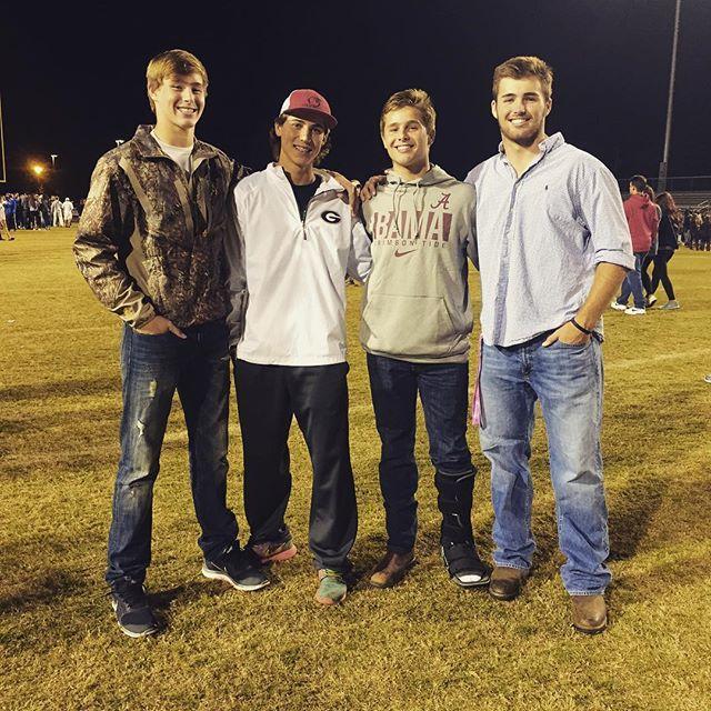 Instagram Photo By Jake Fromm11 Fields Of Faith Tonight With My Bros Jake Georgia Football Georgia Bulldogs