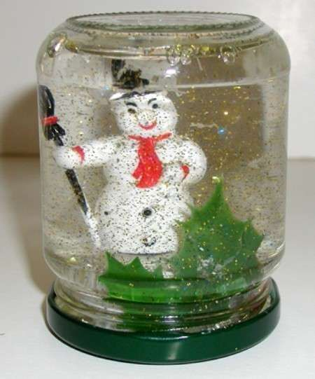 Lavoretti sull'inverno per la scuola dell'infanzia - Boule de neige fai da te