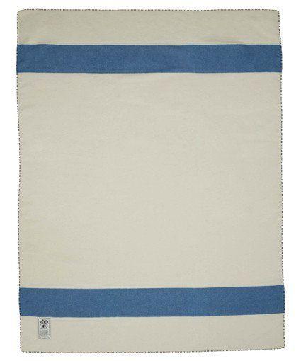 "Shady Cove Stripe 100% Soft Wool Blanket (54""x70"")"