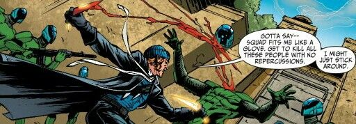 Suicide Squad  Captain Boomerang showing his sadistic side