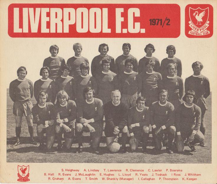 Liverpool FC 1971-72