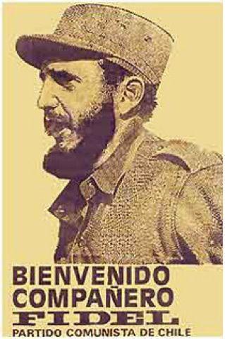 Partido Comunista, a propósito de la visita de Fidel Castro a Chile en 1971