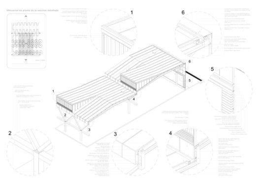10 Exemplary Ways to Represent Architectonic Construction Details,via © aft Arquitectos