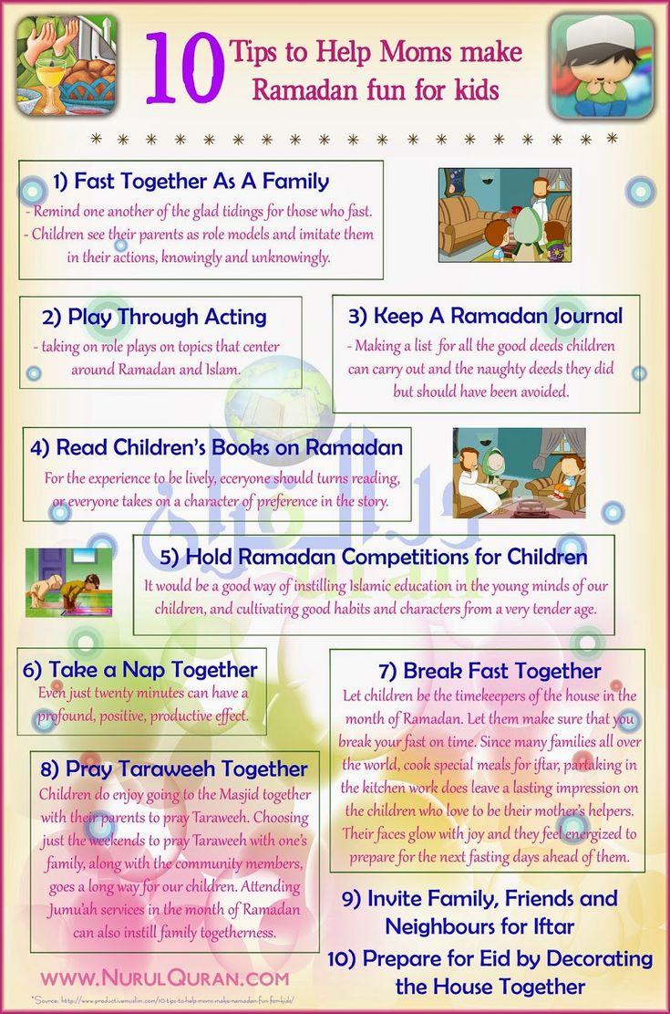 Tips to help Moms make Ramadan fun for Kids