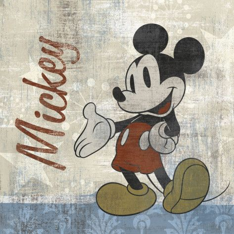Vintage Mickey Cross Stitch Pattern PDF E Pattern $9.00