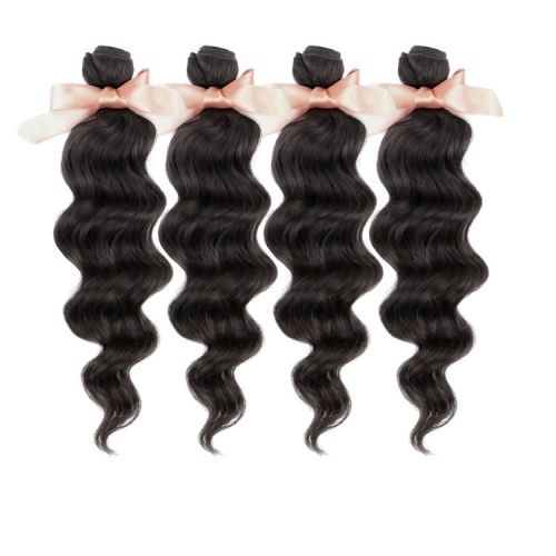 Malaysian Virgin Hair Loose Wave 4 bundles Unprocessed Human Hair Weaves Fast Shipping Cheap Price  ¥158.00