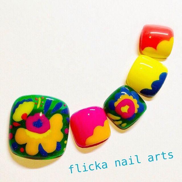 ネイル 画像 flicka nail arts  997936 フット
