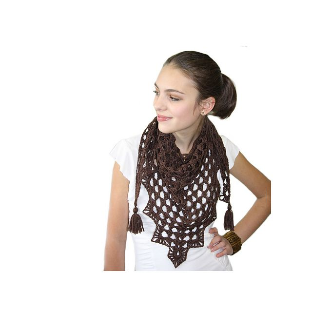 Pretty Triangle Scarf by Kim Miller $2.99 for pattern