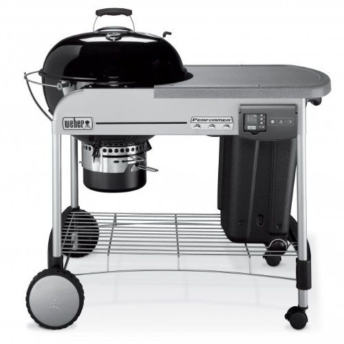 Weber Performer Deluxe with Gourmet BBQ System 2014