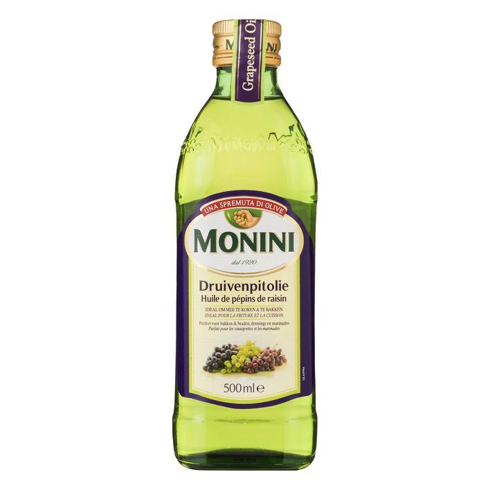 Monini Druivenpitolie 500 ml online Uitstekend om te koekn, huidverzorging én onderhoud van houten meubels...