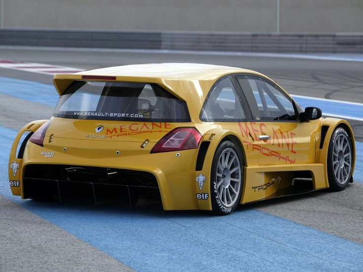 Megane Trophy Super CarsModified