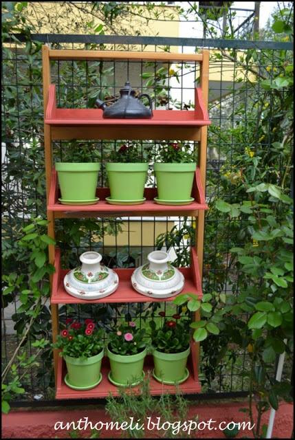 Selves for the garden