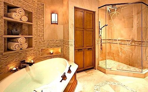 www.leovandesign.com #bathroom #flooring #tips