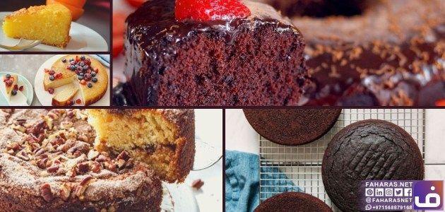 5 وصفات كيكة سهلة وسريعة بنكهات مختلفة In 2020 Fastest Cake Recipe Cake Recipes Desserts