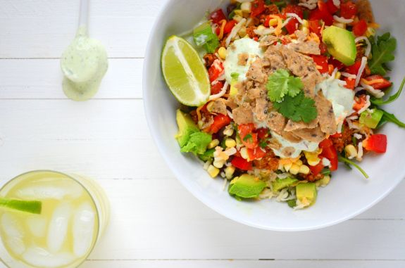 High-Protein Taco Salad + A Rant on Chicago's Winters | Recipe | Taco ...